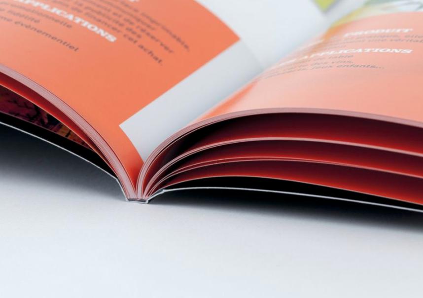 brochure reliure carrée collée